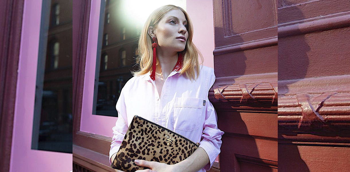Blogger Lisa Banholzer hit the streets of New York City wearing our nightshirt