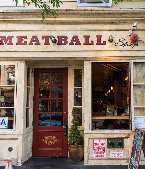 The Meatball Shop is great for a weekday dinner.