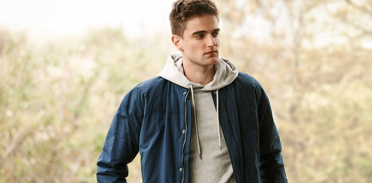 Sporting a clean and dry look has never been easier than with our Richard Jacket.