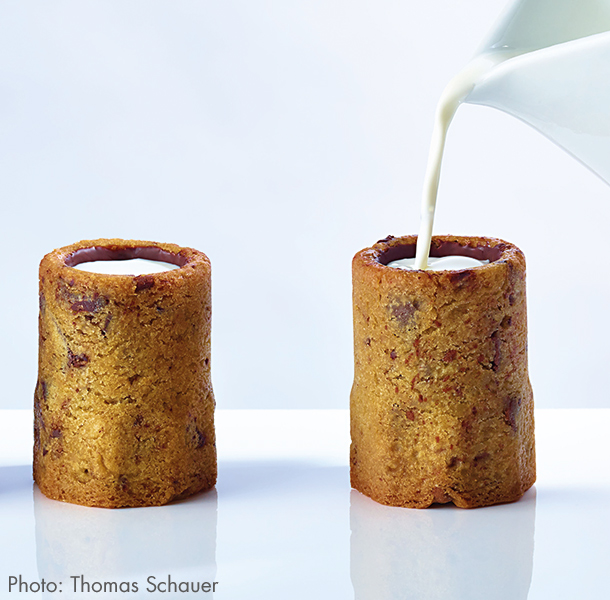 Toast the bakery's fifth year on this planet with the cookie shot. The shot is perfect for those who consider dunking cookies in milk a little retro.