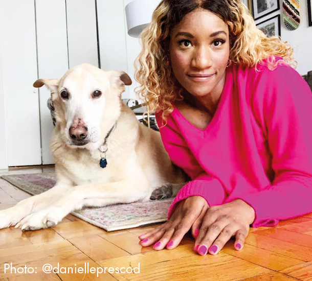 Danielle Prescod, who tracks her sleep and averages 8 hours and 52 minutes a night, strongly believes that an all-around healthy lifestyle is the only way to a succesful life. She has given up many vices, alcohol and shopping to name a couple, that affect her health mentally and physically.