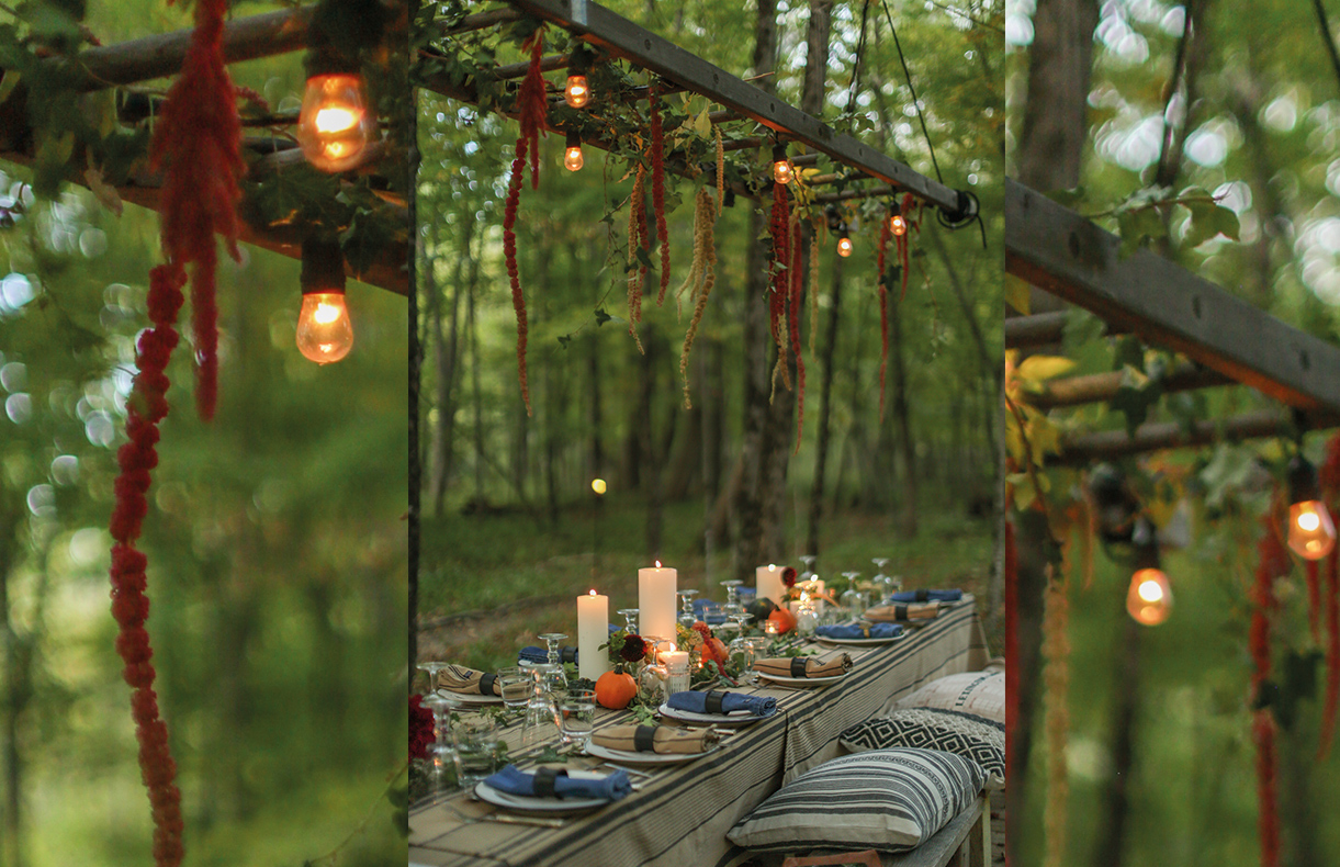 Dinner by the river was truly a magical and serene experience.