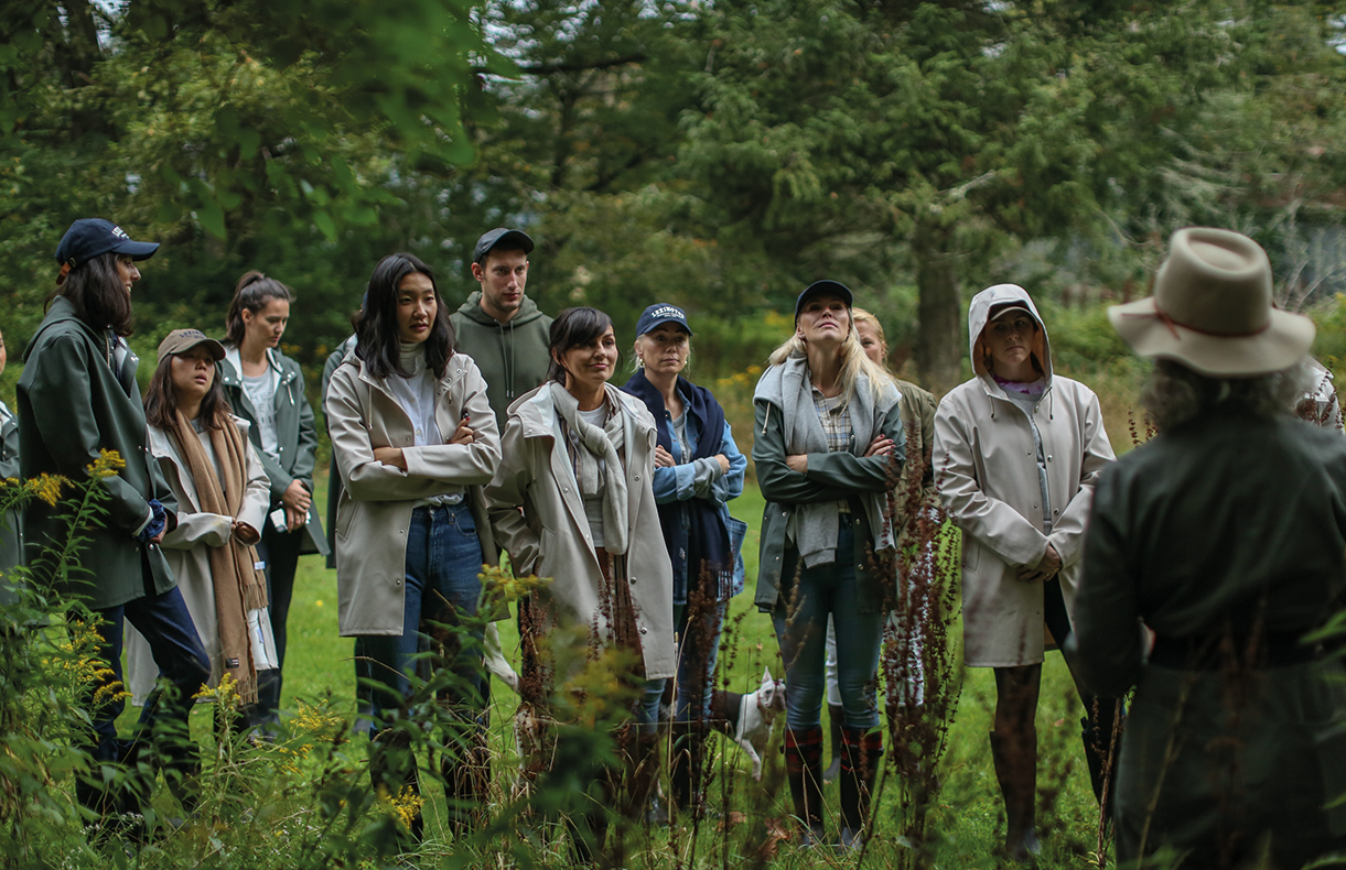 "Laura Silverman took our guests on a foraging excursion and shared her wisdom with us all. If you're a new forager make sure to check out a little guide we put together for you <a href=""https://www.lexingtoncompany.com/the-journal-foraging-a-guide-to-the-pleasures-of-sourcing-food-from-the-wild"" title=""here"" target=""_blank"" rel=""nofollow"">here</a>."