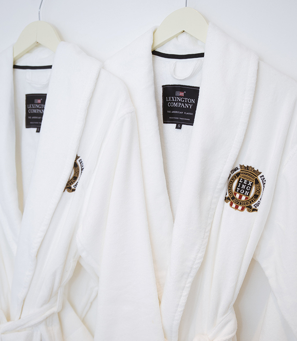 Our soft velour robe's excellent quality and design offered our guests superior comfort when they were lounging around in their rooms.