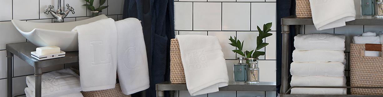 Utmerket Håndklær med monogram DB-31