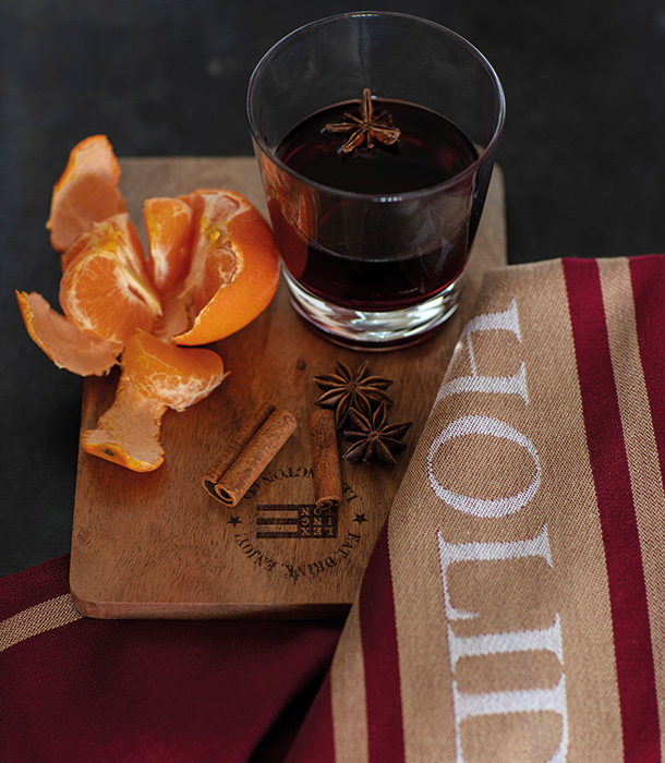 You can substitute our chosen citrus fruits with the ones you like most. Whatever you choose just make sure to garnish your glass with a star anise or two when serving it to your guests.