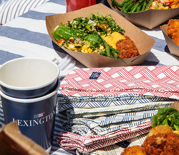 Whether it's for a picnic or a formal dinner at home, these napkins will most likely be your go to napkins. They're soft, durable and best of all they don't sacrifice style for function.