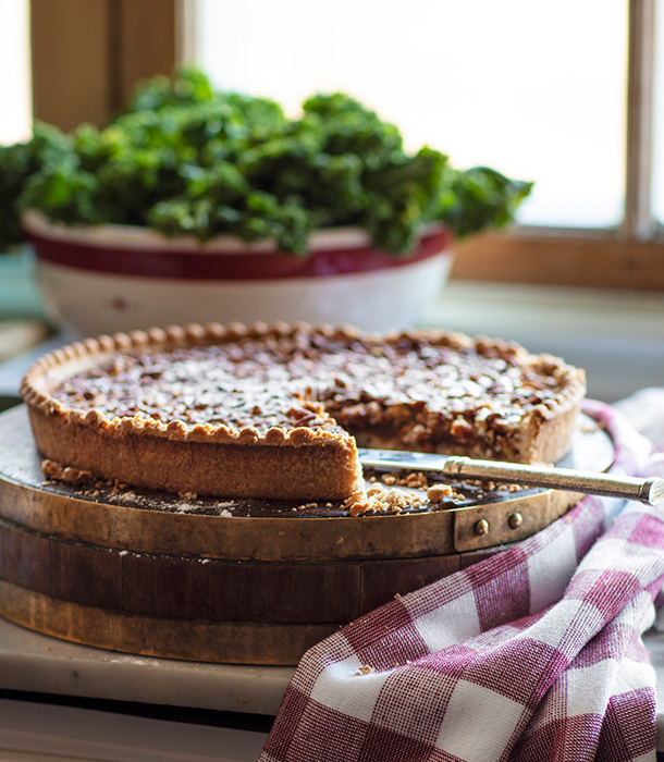 Our holiday pecan pie is a go-to dessert that won't disappoint