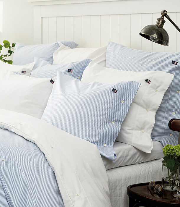 The quest for the freshly laundered shirt feeling in bed was the catalyst for this popular bedding and our brand.