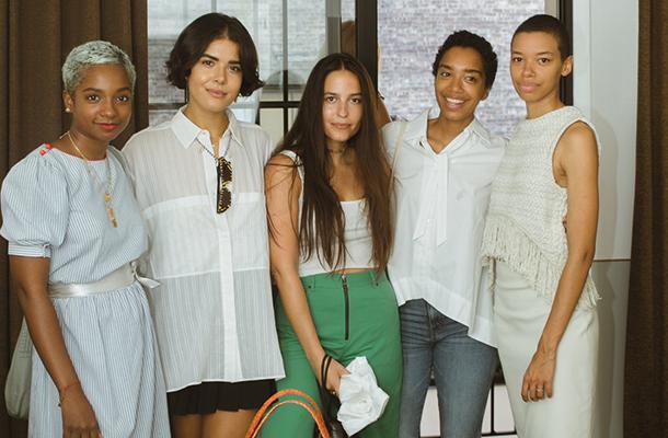 Ryan Norville, Stephanie Moreno, Susannah Schaffer, Corinna Williams and Theresa Williams
