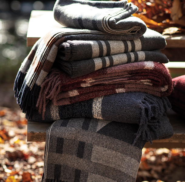 If the weather permits, give mother nature a seat at the table. This season is about breaking down the walls between nature and you. Combat the cold by keeping a blanket handy.