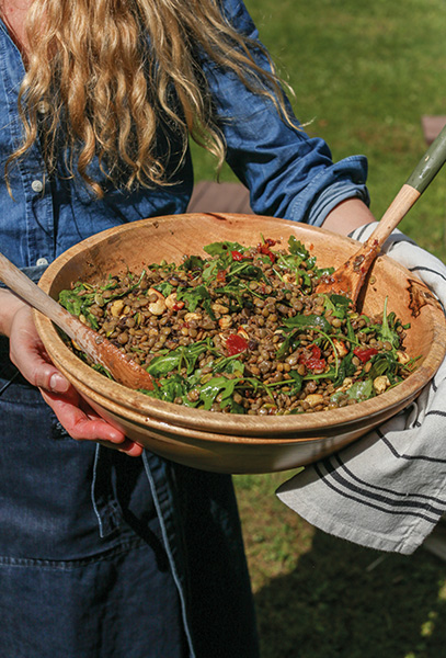 The ingredients used for the food were locally foraged or organically farmed, where available.