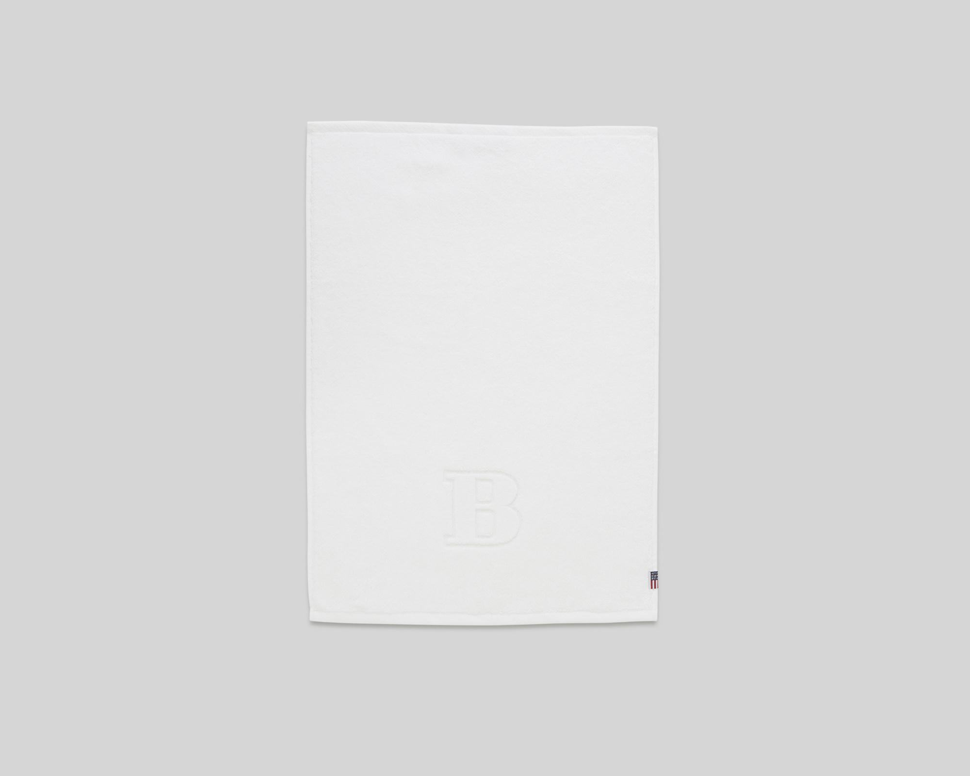 Monogram Towel Letter B