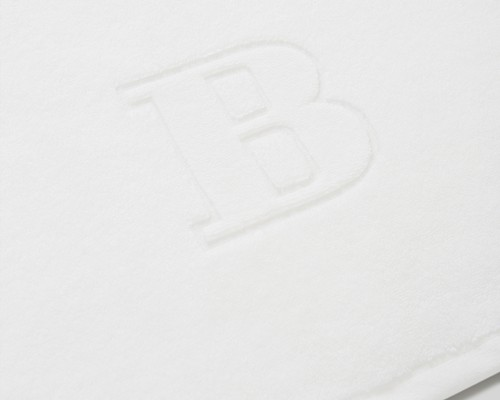 Icons Monogram Towel Letter B