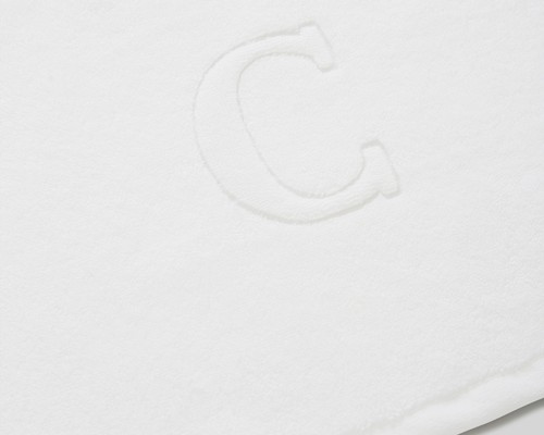 Icons Monogram Towel Letter C