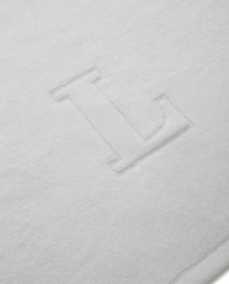 Icons Monogram Towel Letter L