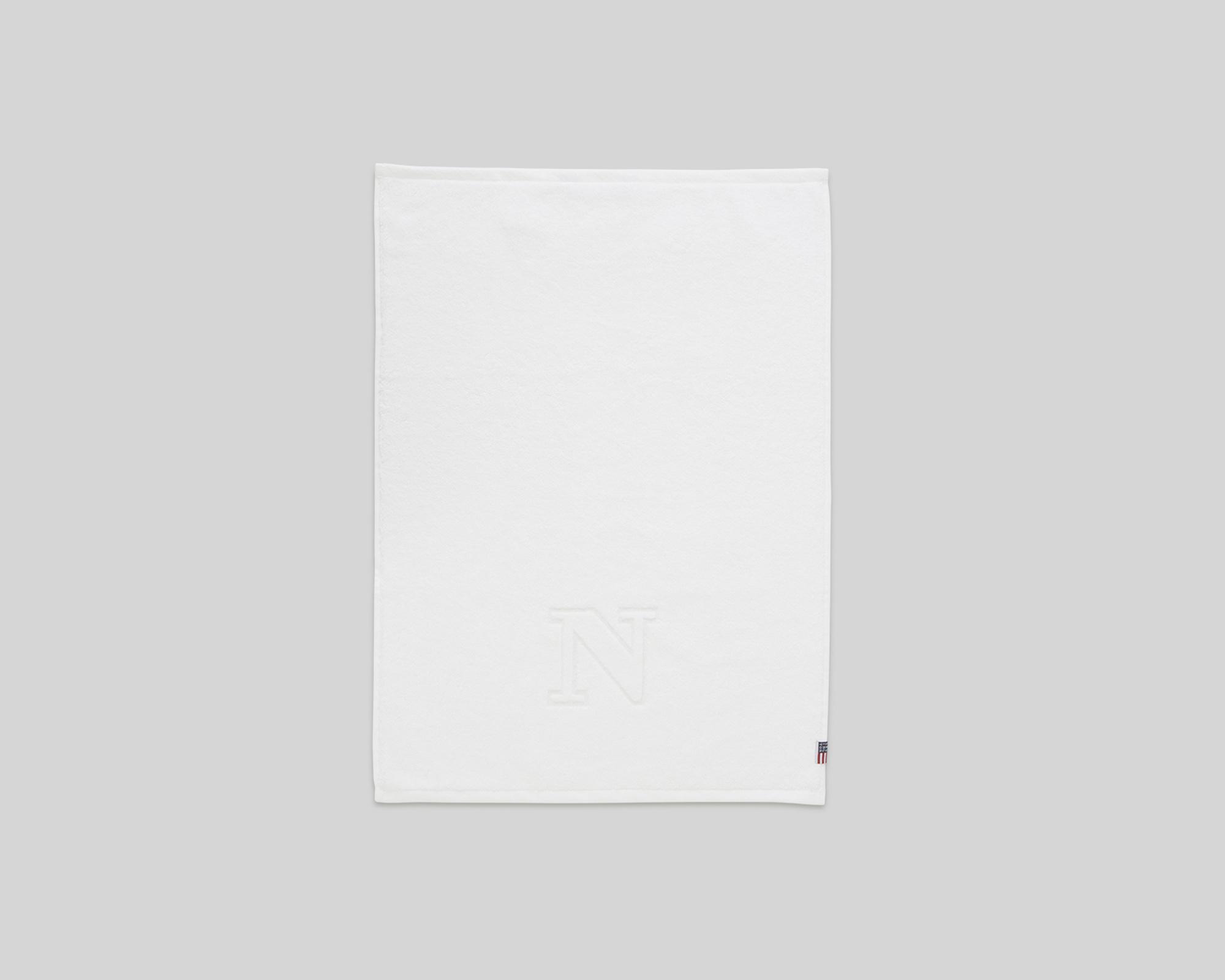 Monogram Towel Letter N