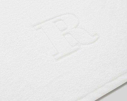 Icons Monogram Towel Letter R