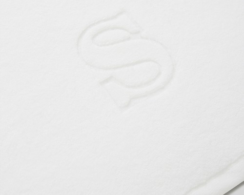 Icons Monogram Towel Letter S