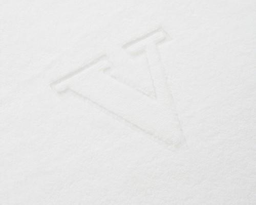 Monogram Towel Letter V
