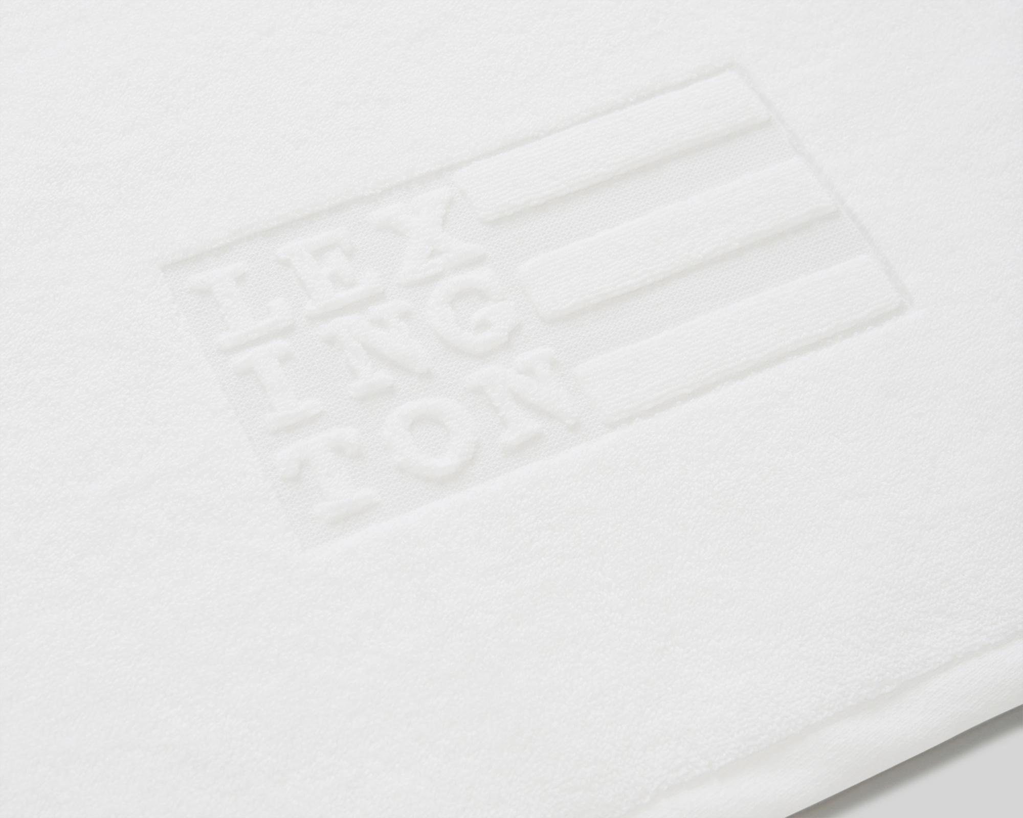 Icons Monogram Towel Letter Logo