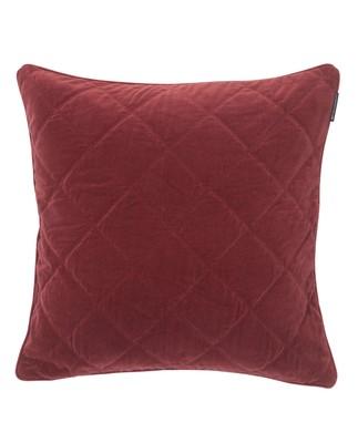 Velvet Quilt Sham, Red