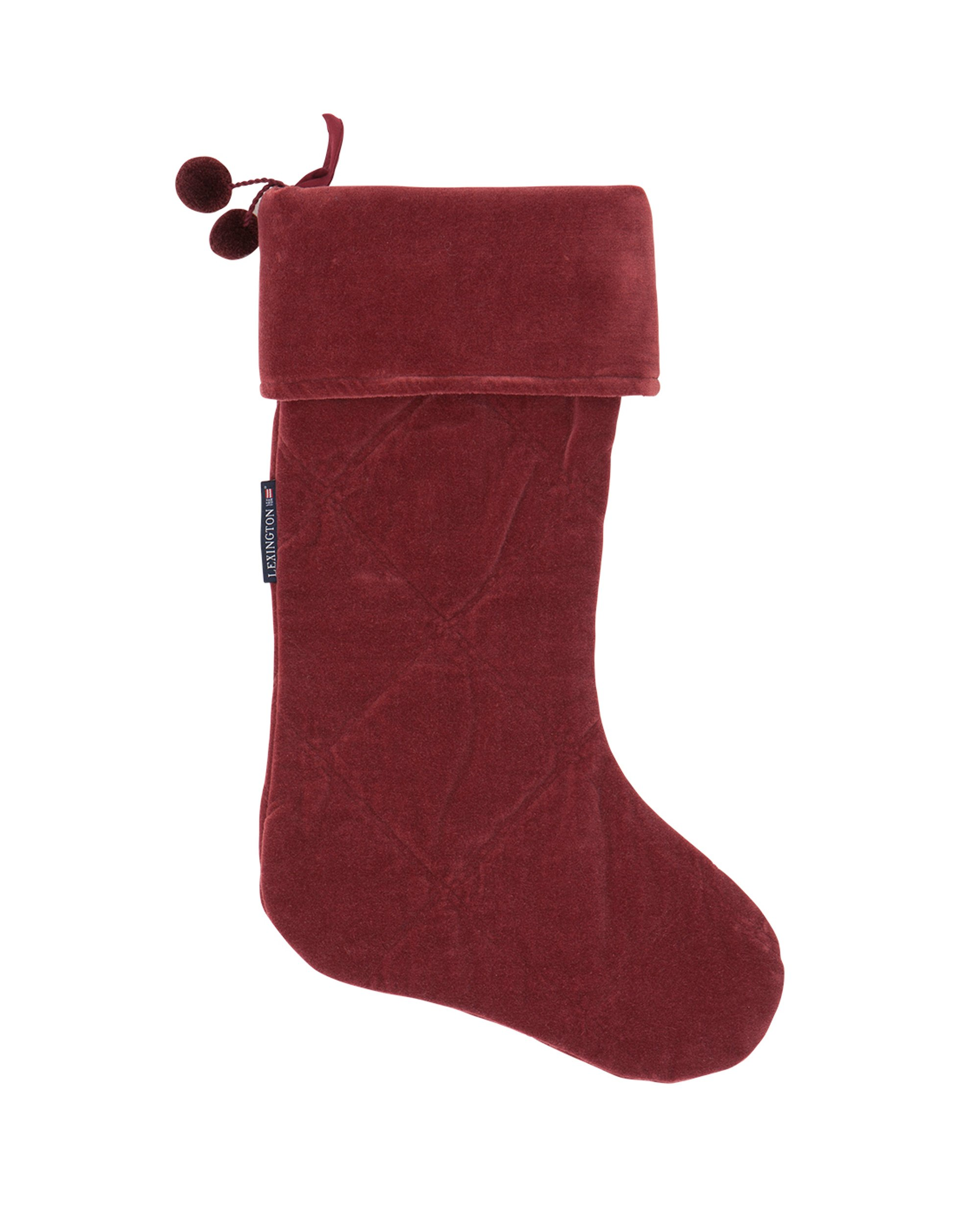 Holiday Christmas Stocking, Red