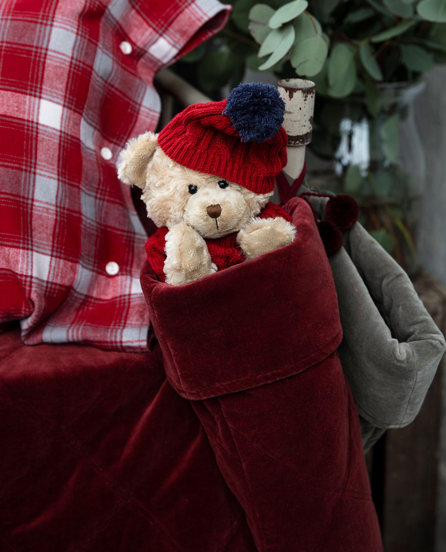 Holiday Christmas Stocking, Red