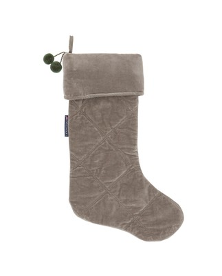 Holiday Christmas Stocking, Green