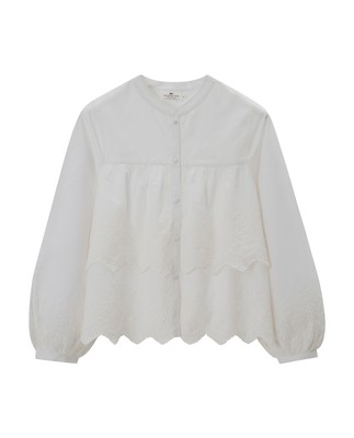 Lilly Lace Blouse, Snow White