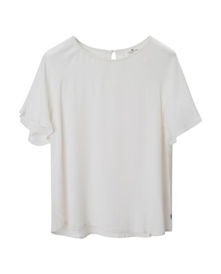 Ellis Viscose Top, Snow White