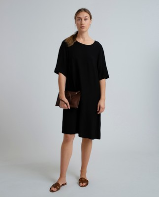 Thea Dress, Caviar Black