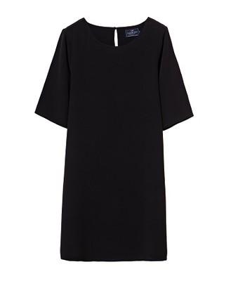 Thea Dress, Caviar Black