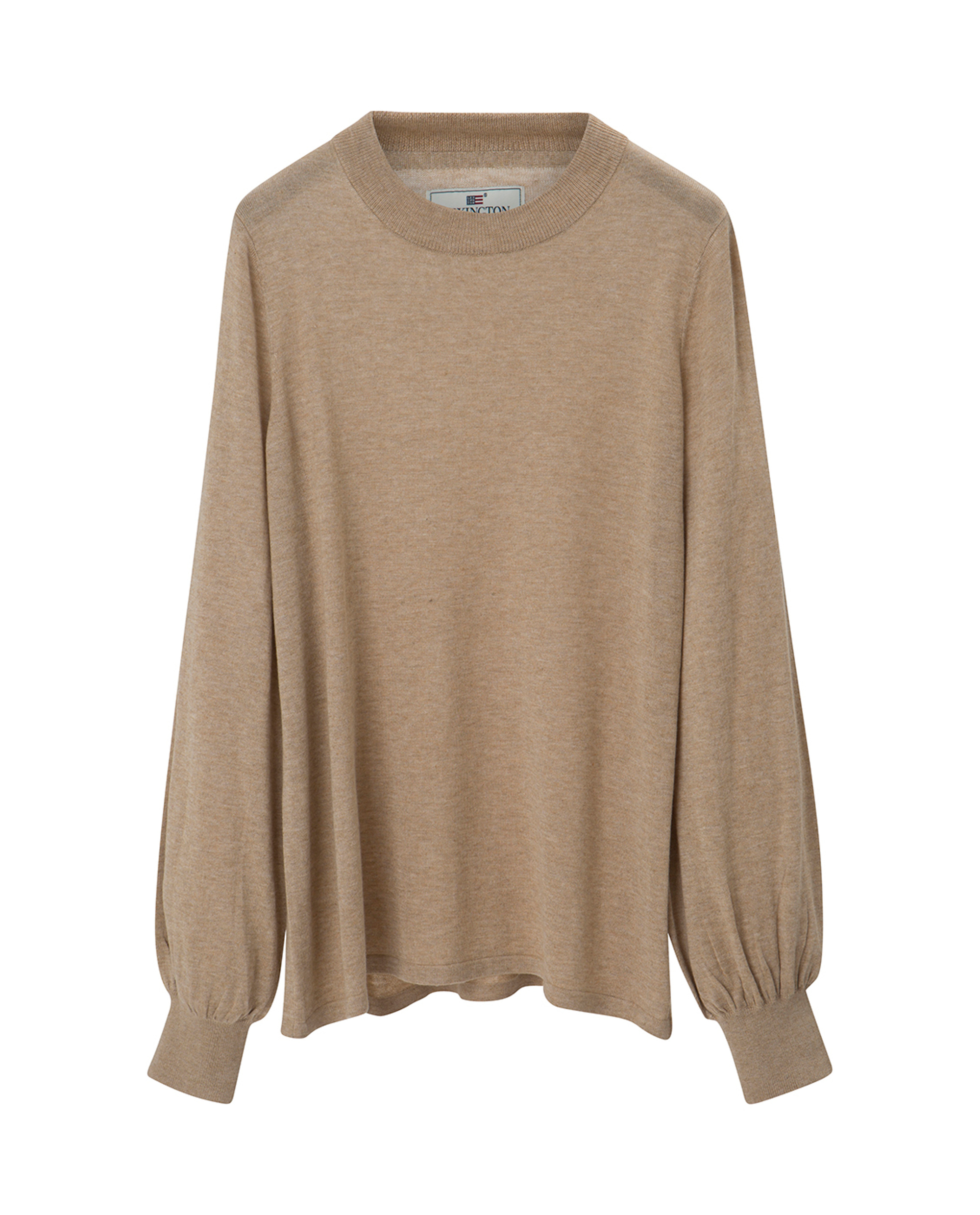 Sadie Cotton Bamboo Sweater, Warm Sand