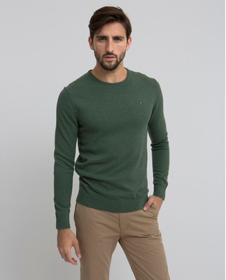 Bradley Crewneck Sweater, Green