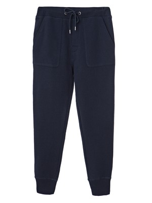 Job Jersey Track Pants, Deep Marine Blue
