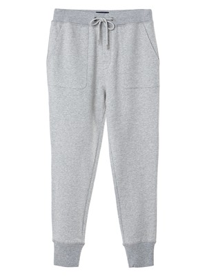 Job Jersey Track Pants, Light Gray
