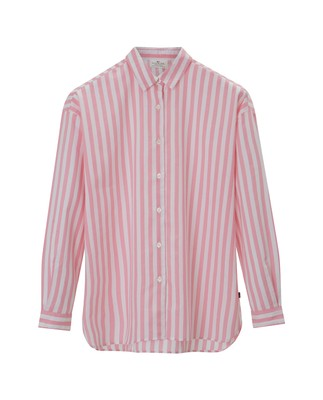Edith Lt Oxford Shirt, Pink/White