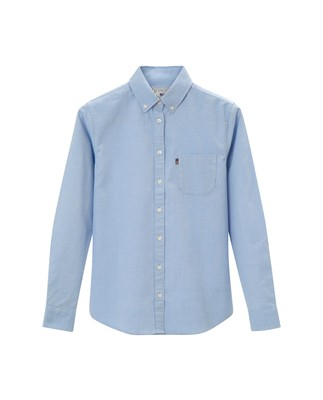 Sarah Oxford Shirt, Light Blue
