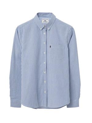 Sarah Oxford Shirt, Classic Blue/White