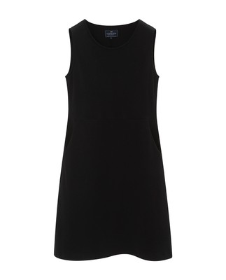Gemma Jersey Dress, Caviar Black