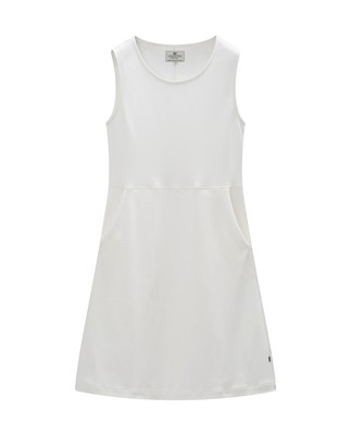Gemma Jersey Dress, Snow White