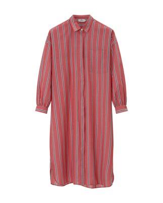 Marlowe Cotton Voile Dress, Pink Multi