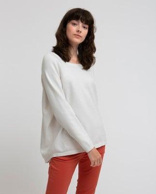 Lea Sweater, Bright White