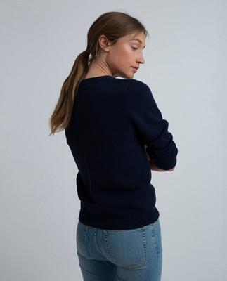 Lova Sweater, Navy Blue