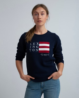 Lova Sweater, Navy Blue