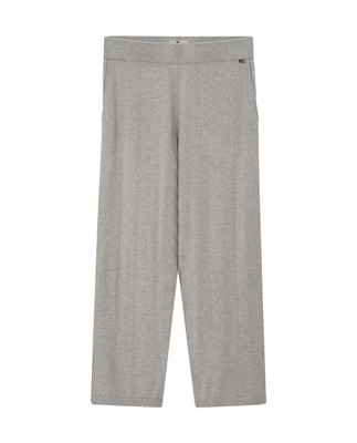 Des Knitted Track Pants, Light Warm Gray