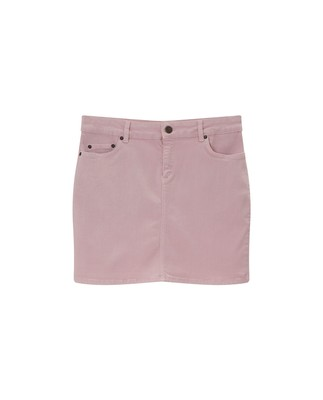 Alexa Pink Denim Skirt