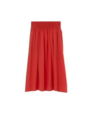 Jenni Jersey Skirt, Paprika Red