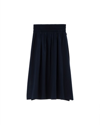 Jenni Jersey Skirt, Navy Blue